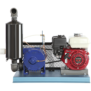 Vacuum pumps with gas motor - CDL Maple Sugaring Equipment