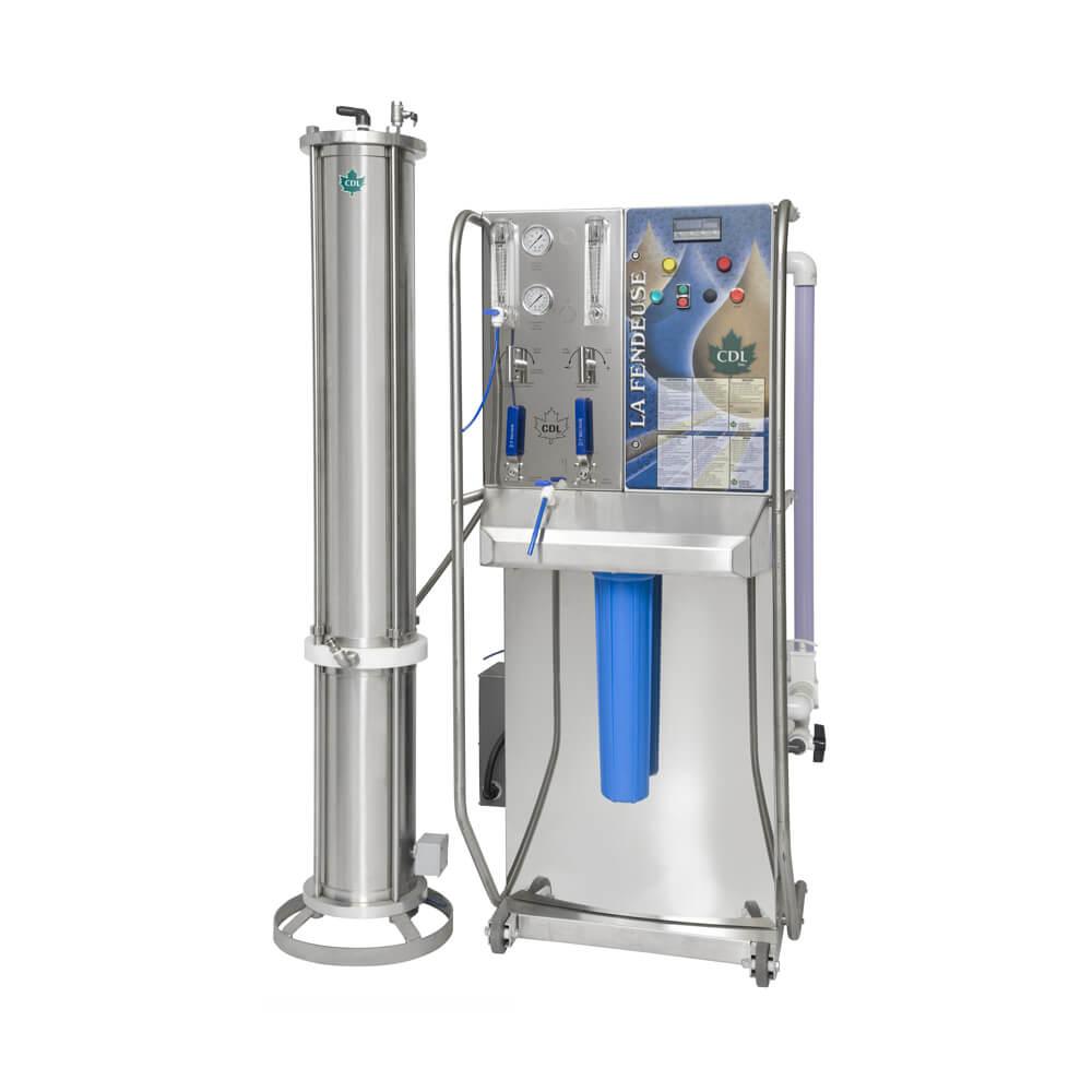 concentrateur La Fendeuse CDL LA fendeuse reverse osmosis