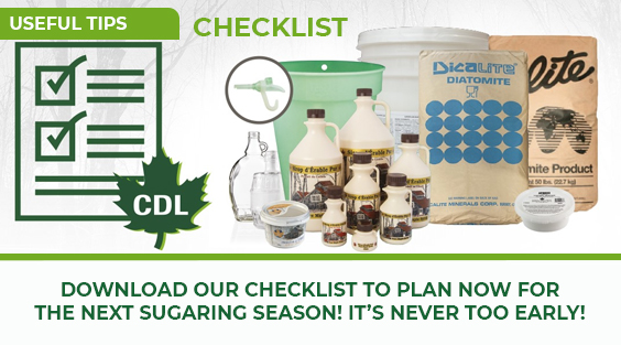Maple Season Checklist