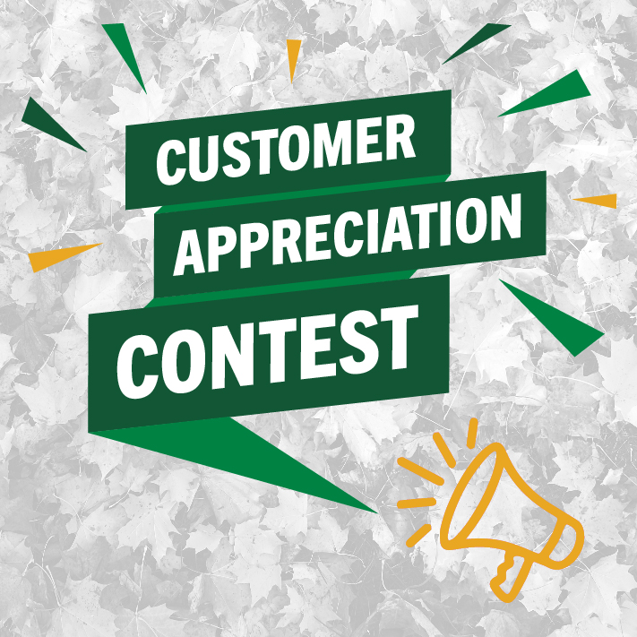 Customer Appreciation Contest